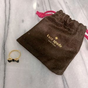 Kate Spade Bow Ring size 6